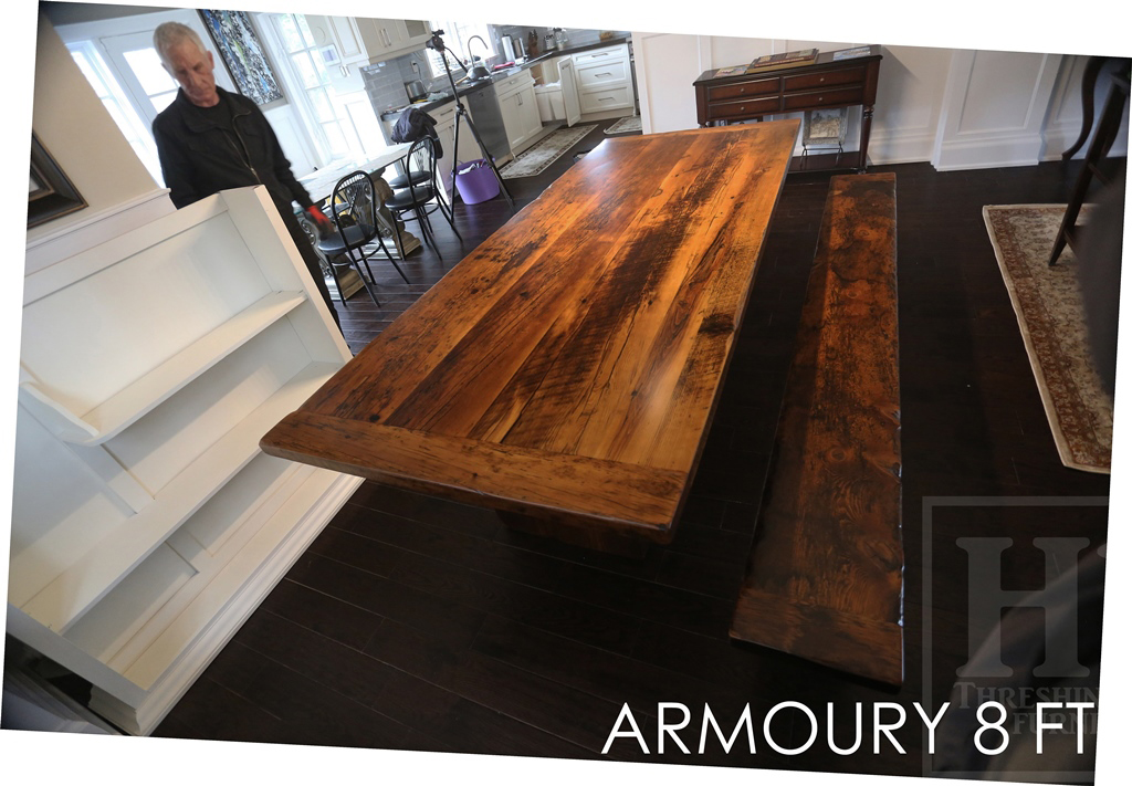 Reclaimed Wood Dining Table in Toronto Ontario Home  Blog