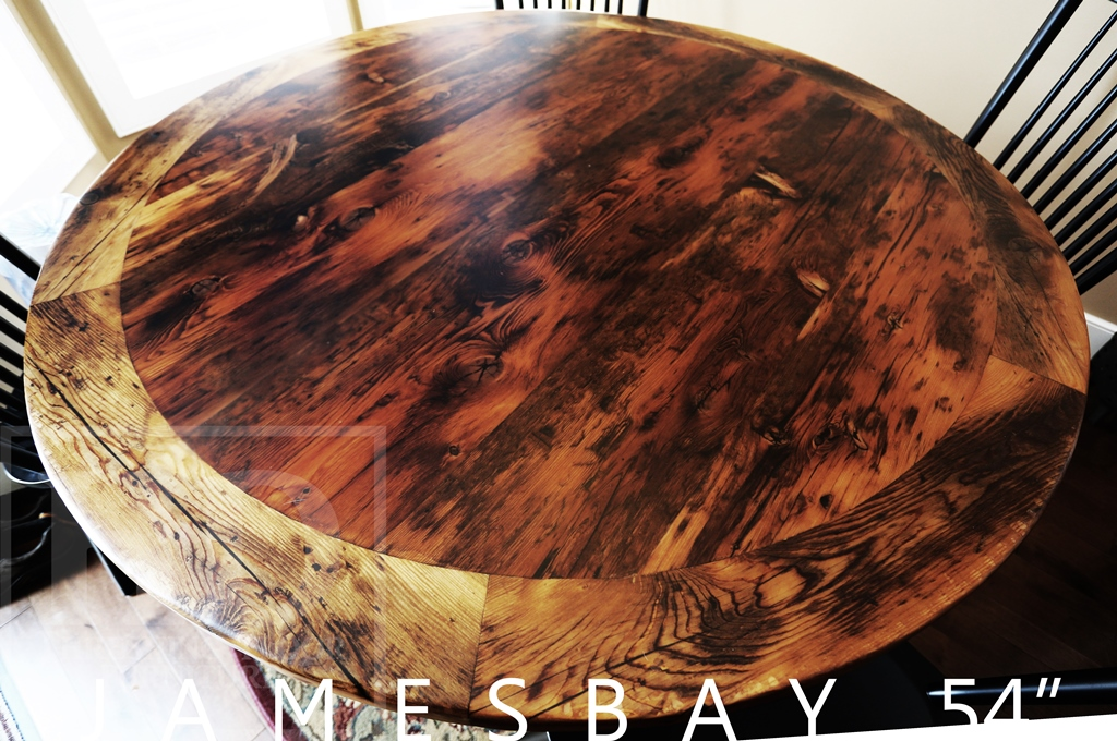 Reclaimed Wood Table Brantford Ontario HD Threshing Gerald