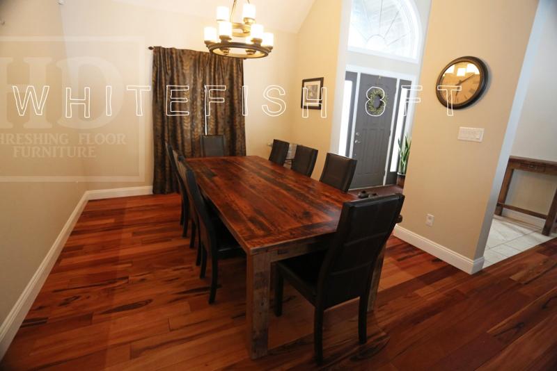 Reclaimed Wood Tables Sault Ste Marie Ontario HD Threshing Epoxy