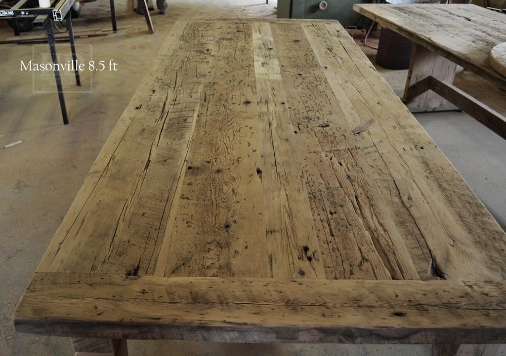 Reclaimed Wood Harvest Tables Ontario, Harvest Tables Toronto, Epoxy,  Barnwood Table, Mississauga