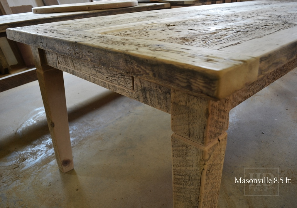 Reclaimed Wood Harvest Tables Ontario Toronto Barnwood Table Mississauga