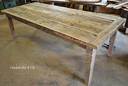 Reclaimed Wood Harvest Tables Ontario Mississauga Epoxy HD