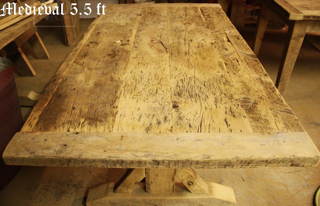 Reclaimed Wood Tables Oakville Ontario HD Threshing Floor Epoxy