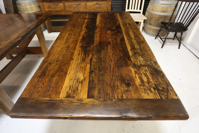 Current Reclaimed Tables In Stock For Sale October 26
