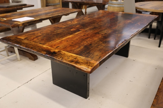 Reclaimed Wood Tables Ontario Epoxy HD Threshing Pst by Gerald Reinink ...
