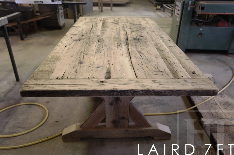 mennonite solid wood furniture ontario rustic pine or rustic pine or elm harvest tables from reclaimed wood