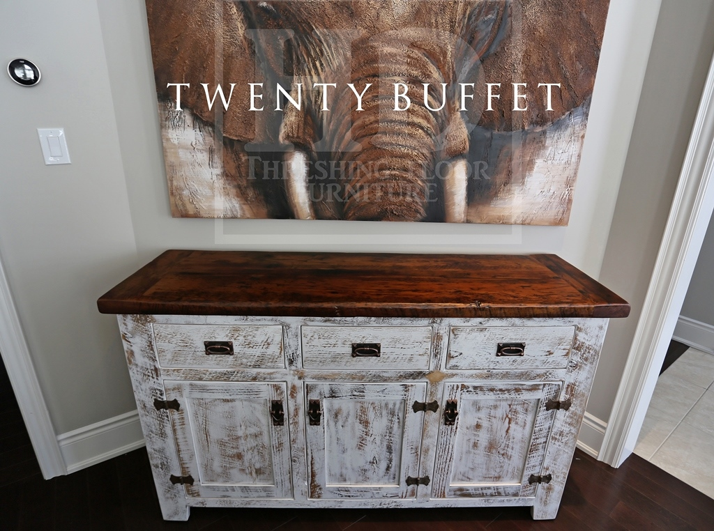 Reclaimed Wood Buffet Console In Aurora Ontario Home Blog