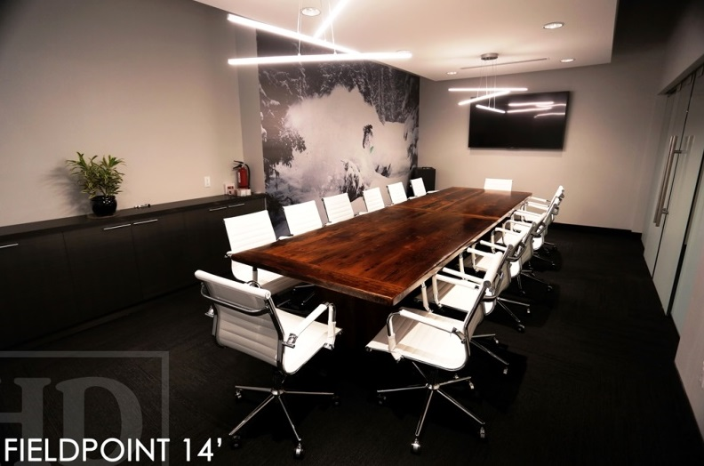 Oakville Reclaimed Wood Boardroom Table  Blog
