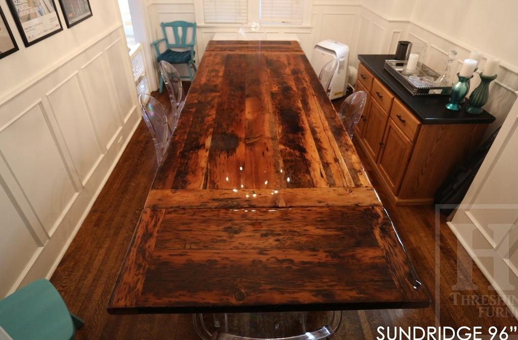 Farmhouse, Rustic Table, Rustic Tables, Ontario, Toronto, Epoxy, Custom,