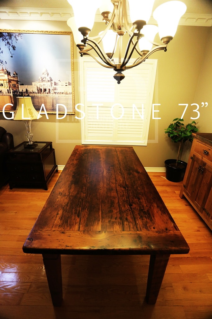 Harvest Tables Toronto Mississauga Ontario Canada Reclaimed Barnwood Live Edge