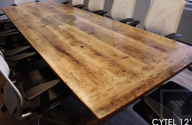 boardroom table, boardroom tables Toronto, epoxy, resin, reclaimed wood tables Ontario, conference tables Ontario, recycled