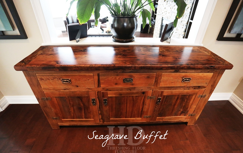 6 Ft Reclaimed Wood Buffet Console Blog