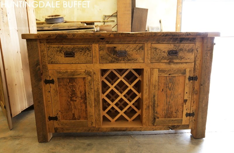 barnwood wine rack reclaimed wood buffet wine rack in kitchener ontario home 1489