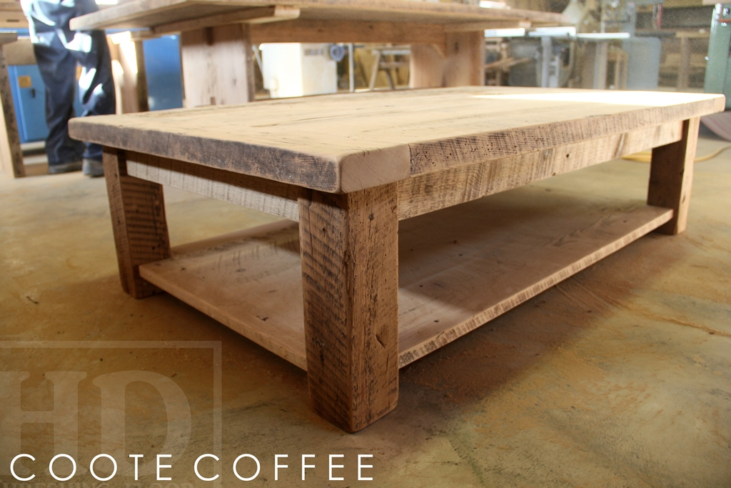 Reclaimed Wood Coffee Table In Toronto Ontario Home Blog