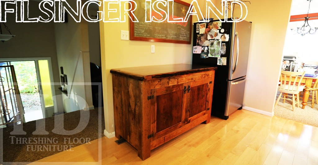 Reclaimed Wood Island Kitchener Ontario HD Threshing HD Epoxy