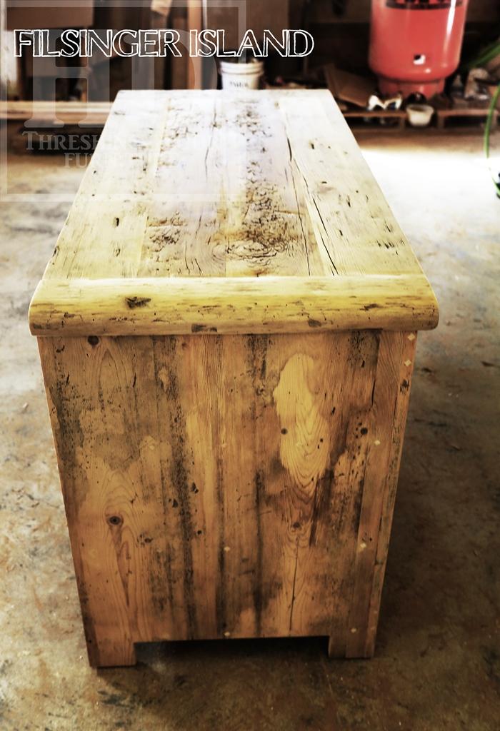 island, island Ontario, reclaimed wood islands Ontario, reclaiemd wood furniture Ontario, barnwood furniture, reclaimed wood islands Kiitchener, Ontario, HD Threshing Floor Furniture, Gerald, resin, recycled, cottage, farmhouse