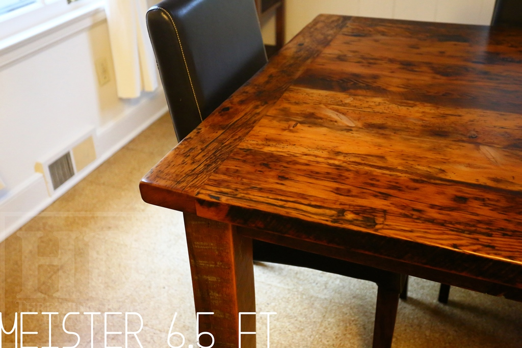 Reclaimed Wood Harvest Table In London Ontario Blog