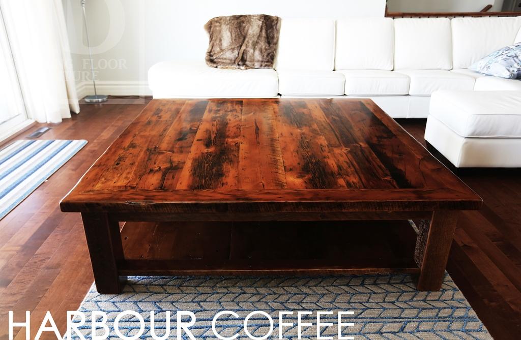 Coffee Tables Ontario Reclaimed Wood Hemlock Barnboard