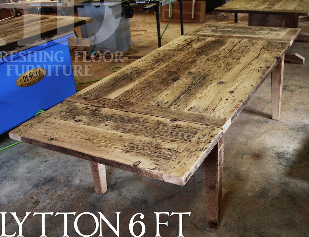 harvest table Caledon, Caledon, Ontario, harvest tables Toronto, epoxy, HD Threshing Floor Furniture, Gerald Reinink, resin, reclaimed wood tables Ontario, Cambridge, farmhoue, recycled wood table