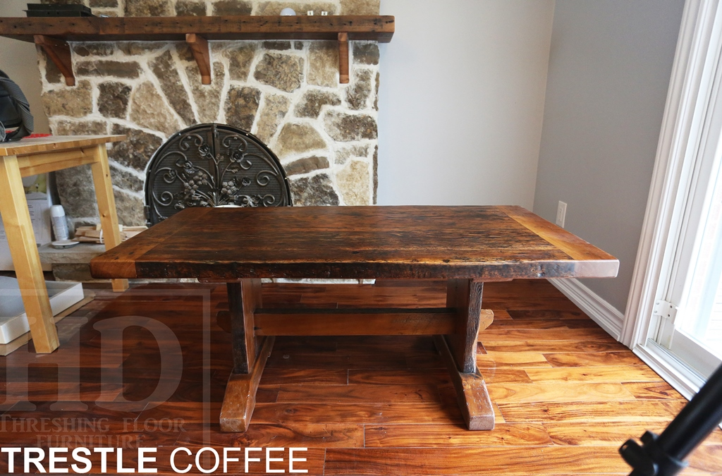 Reclaimed Wood Coffee Table Toronto Ontario Hd Threshing Barnwood 2