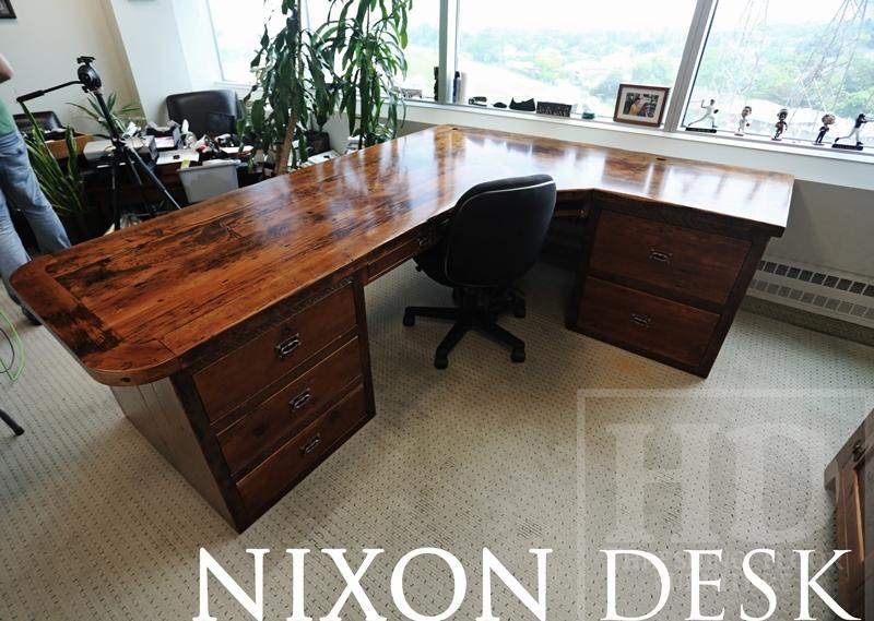Reclaimed Wood Desks Lawyer Toronto Gerald Reinink 11 Blog