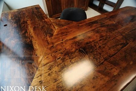 Reclaimed Wood Desks Lawyer Toronto Gerald Reinink Blog