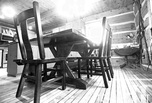 wide   Premium epoxy matte polyurethane finish   Reclaimed Hemlock  Threshing Floor Medium Sanding out of original patina   Premium epoxy resin  base coat. Reclaimed Wood Sawbuck Table in Guelph  Ontario   Blog