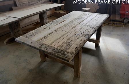 salvaged wood tables modern farmouse table port hope ontario resin epoxy