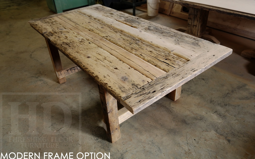 Reclaimed Wood Tables Ontario Port Hope Rustic   Blog