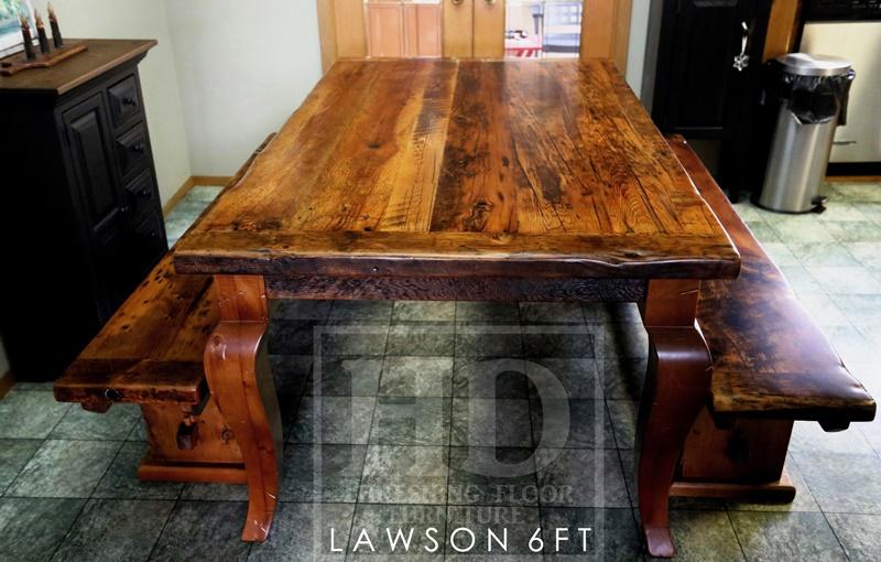 reclaimed wood tables Carlisle, Ontario, harvest tables Ontario, farmhouse tables Ontario, reclaimed wood tables Ontario, HD Threshing Floor Furniture
