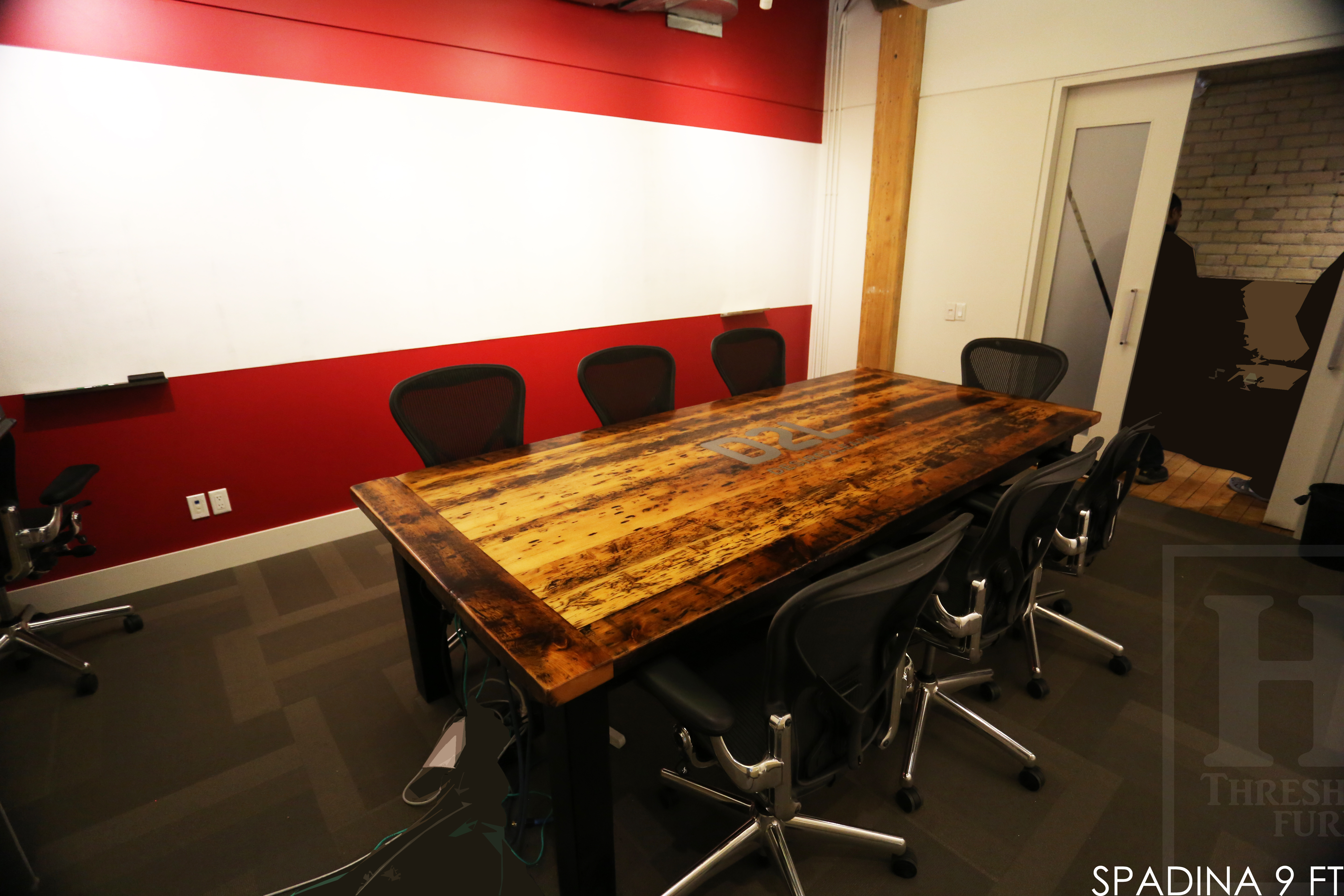 Reclaimed Wood Dining Table Nyc Images Metal Pipe Outdoor
