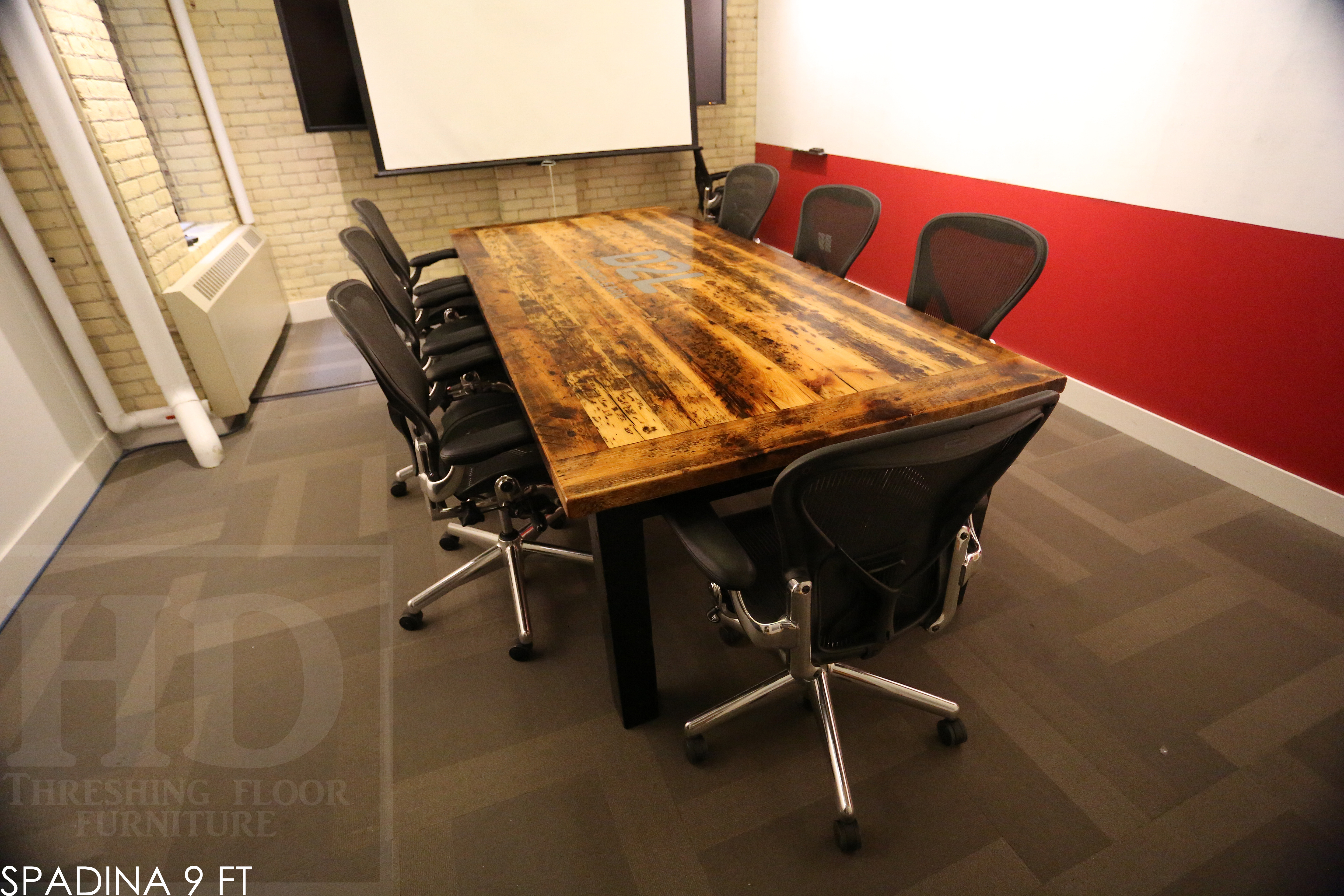 Reclaimed Wood Conference Tables Toronto Ontario Blog - 5 ft conference table
