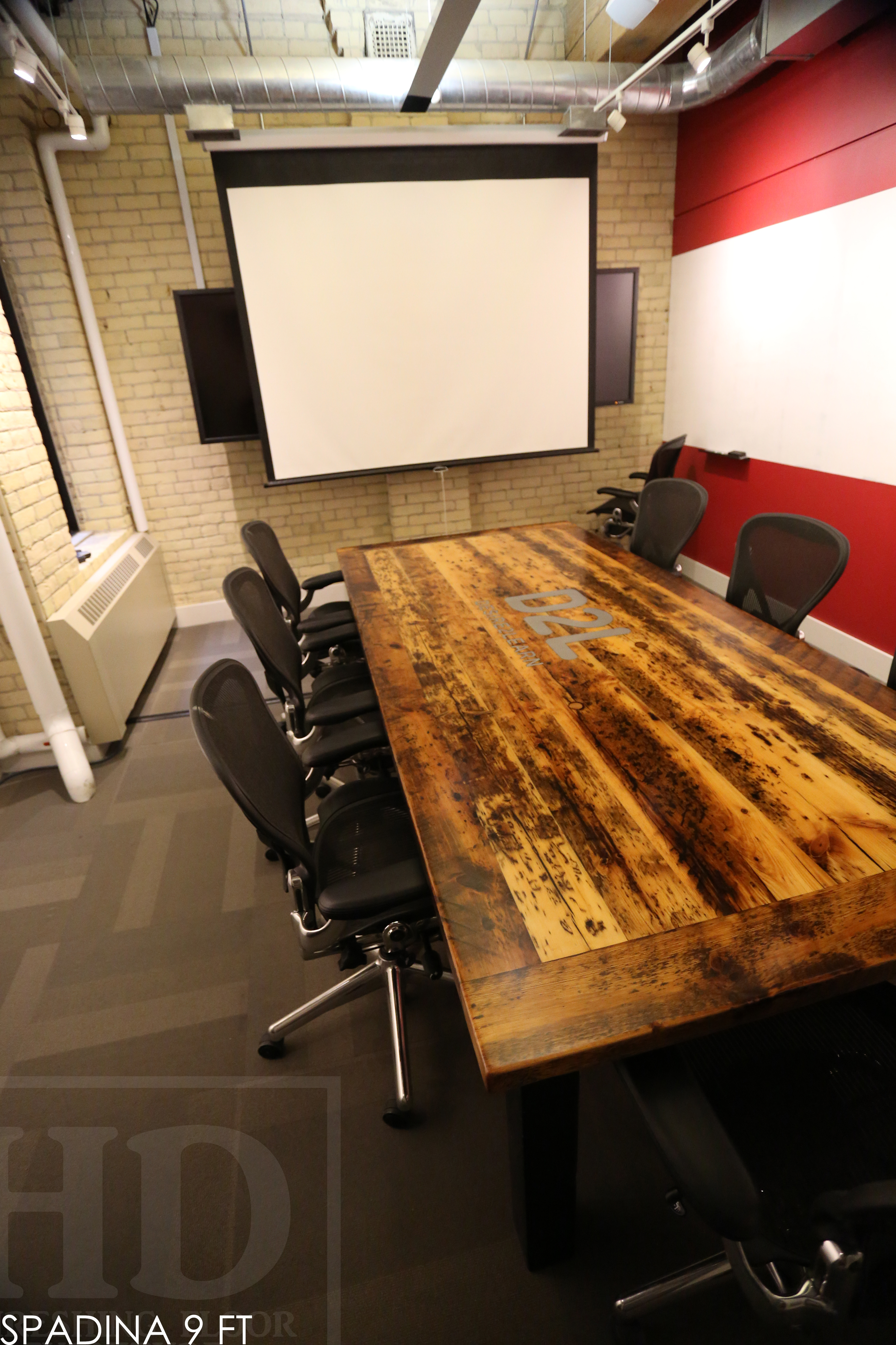 Reclaimed Wood Tables Ontario Epoxy Boardroom Table Resin Recycled Furniture