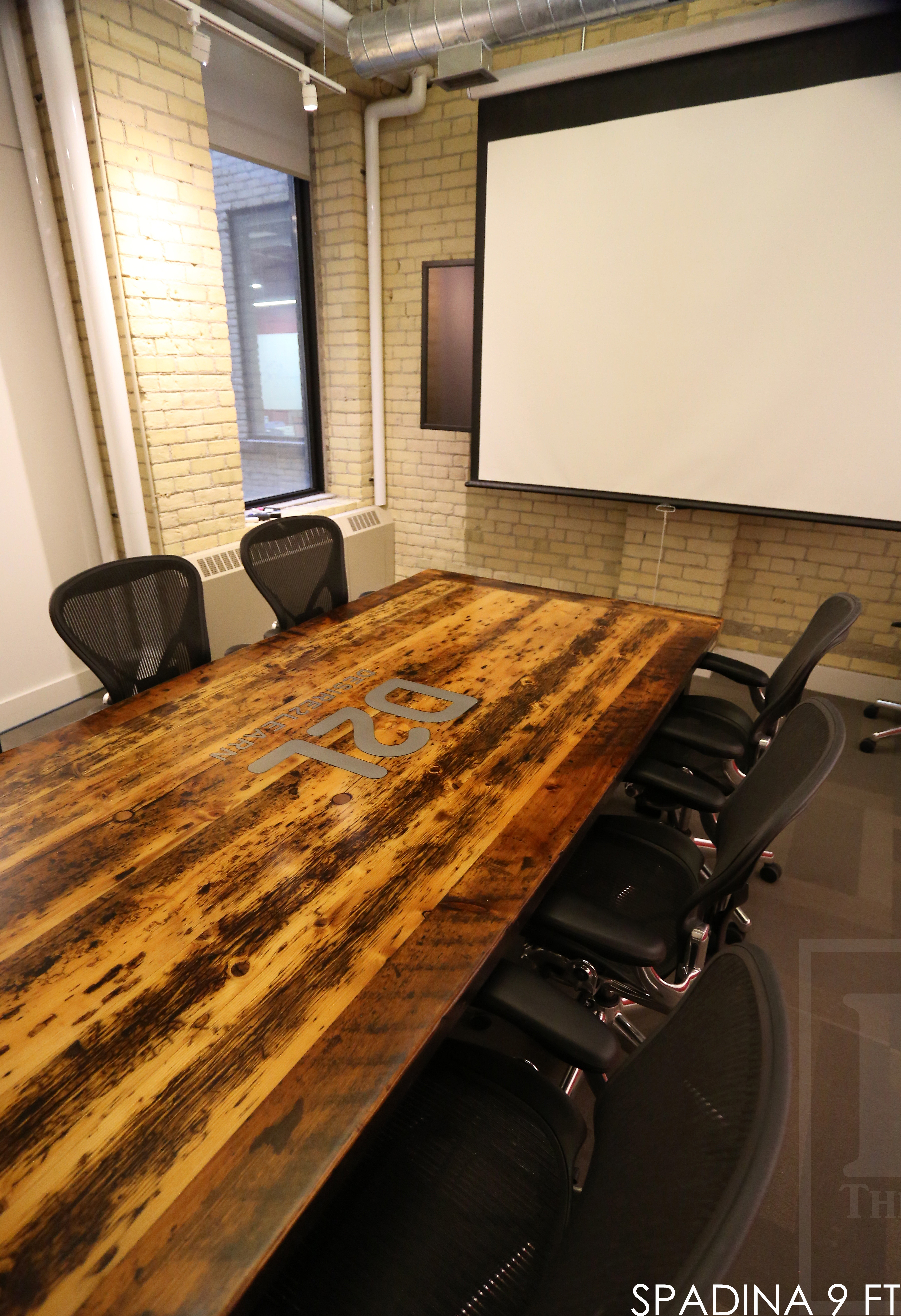 reclaimed wood tables Ontario, epoxy, boardroom table, resin, recycled wood furniture, conference table, reclaimed wood conference table, modern tables Ontario