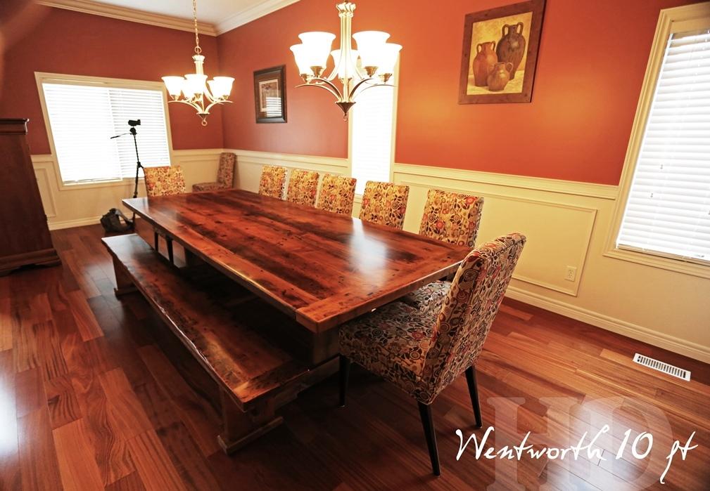 reclaimed wood tables Ontario, barnwood, epoxy, resin, HD Threshing Floor Furniture, solid wood table, modern farmhouse table, farmhouse, rustic furniture, cottage furniture, cottage tables Ontario