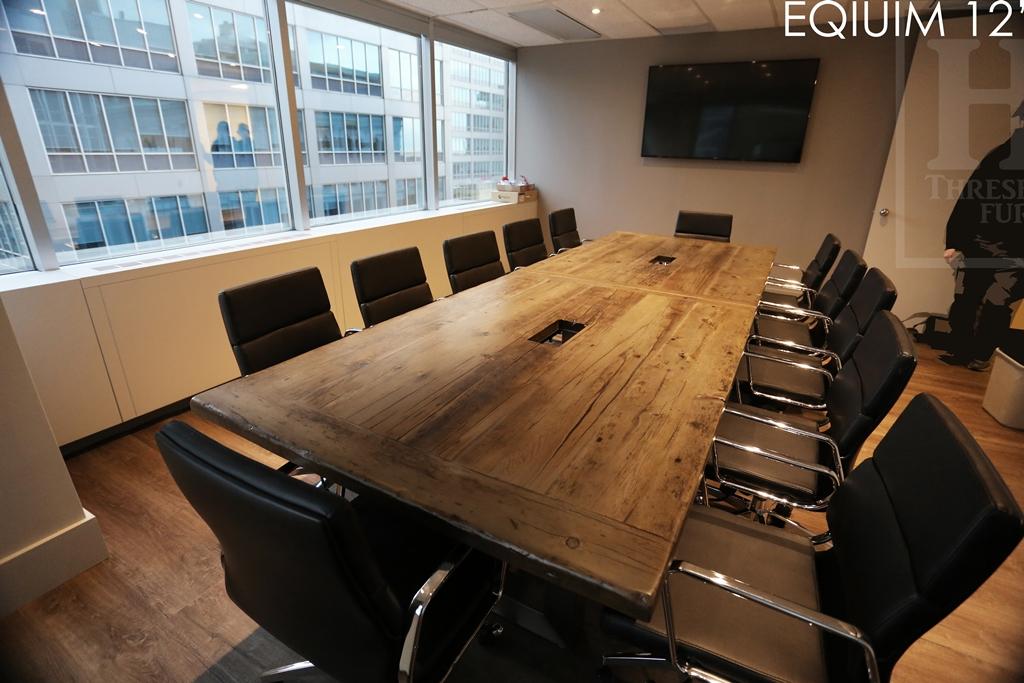 Reclaimed Wood Boardroom Table Toronto Blog - Reclaimed wood boardroom table