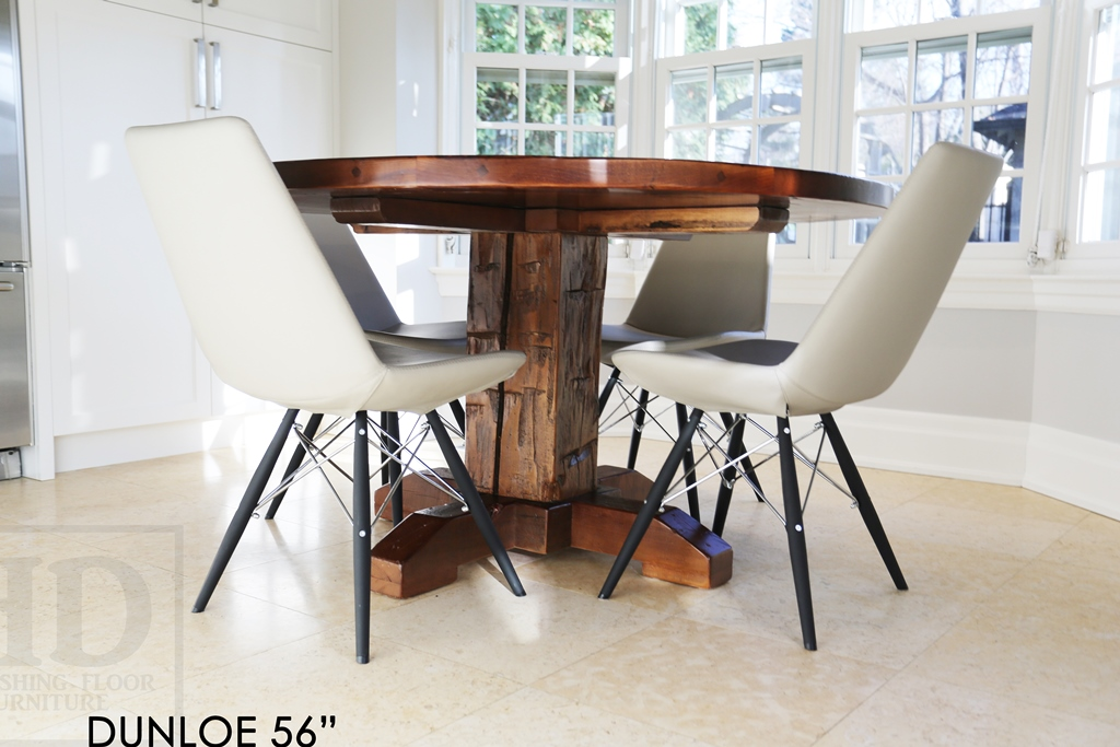Pleasant Reclaimed Wood Round Tables Epoxy Ontario Mennonite Beutiful Home Inspiration Aditmahrainfo