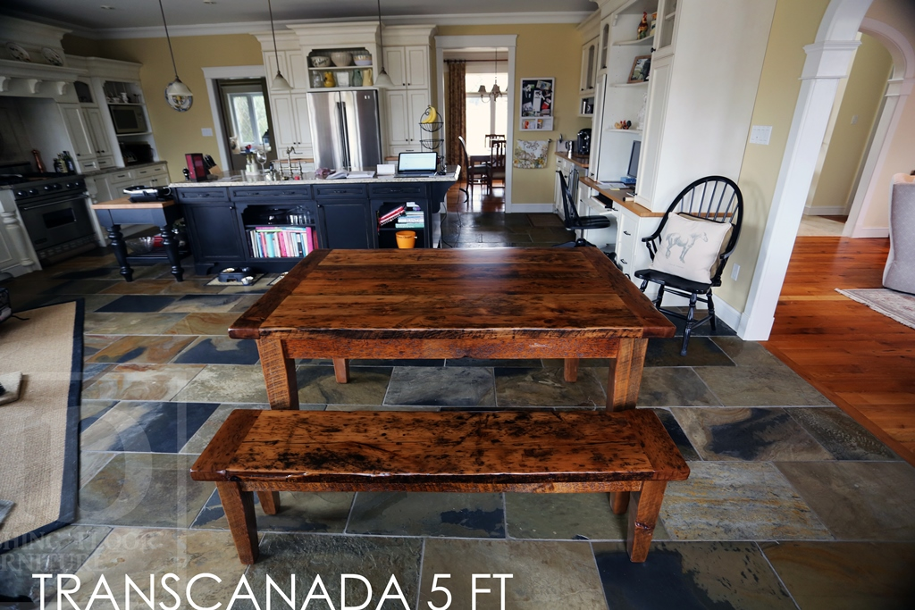 Outstanding Reclaimed Wood Harvest Table Caledon Ontario Gerald Reinink Beutiful Home Inspiration Aditmahrainfo