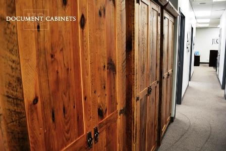reclaimed wood office furniture Toronto, Ontario, barnwood office furniture, office cabinet, HD Threshing, HD Threshing Floor Furniture, reclaimed hemlock, custom office furniture, mennonite furniture, amish furniture, rustic office furniture