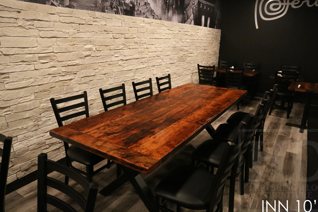 Restaurant Table Tops Ontario, Restaurant Tables, Reclaimed Wood Restaurant  Tables, Commercial Reclaimed Wood