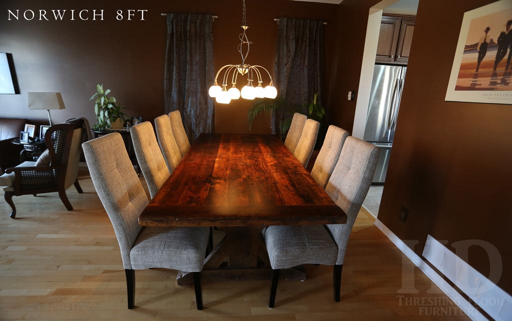 Reclaimed Wood Table Ottawa Ontario Epoxy HD Threshing Floor Furniture