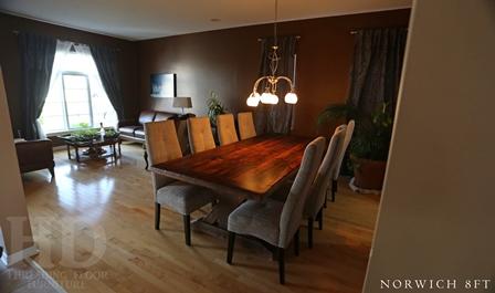 reclaimed wood table Ottawa Ontario, epoxy, HD Threshing, HD Threshing Floor Furniture, rustic wood tables Ontario, reclaimed wood furniture, distressed wood table, barnwood table, mennonite furniture Ontario, mennonite table, farmhouse table