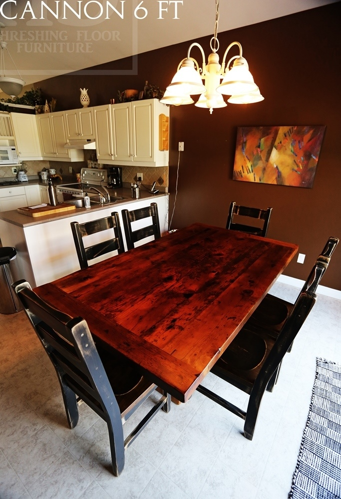 Reclaimed Wood Tables Niagara Falls Furniture Epoxy Resin Mennonite