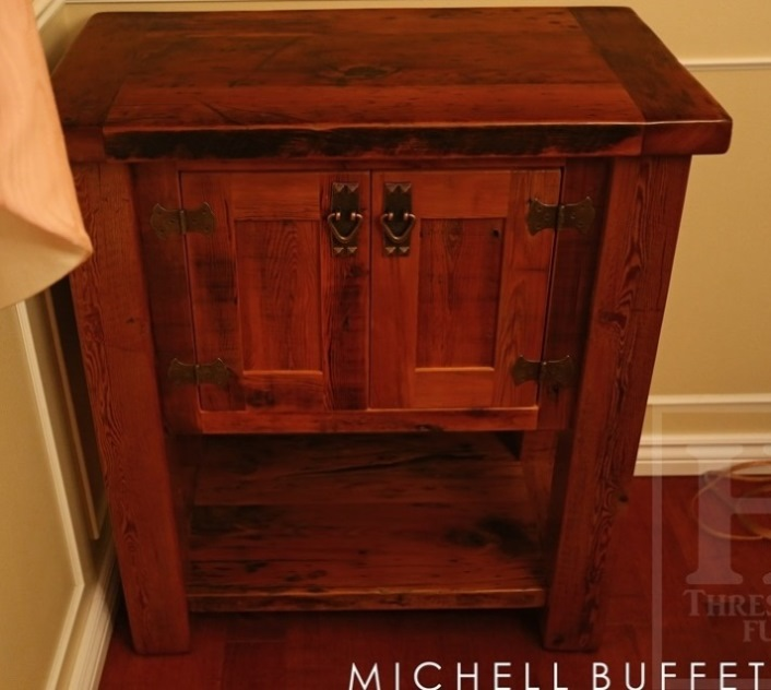 Surprising Reclaimed Wood Mennonite End Table Cabinet Kitchener Ontario Interior Design Ideas Ghosoteloinfo