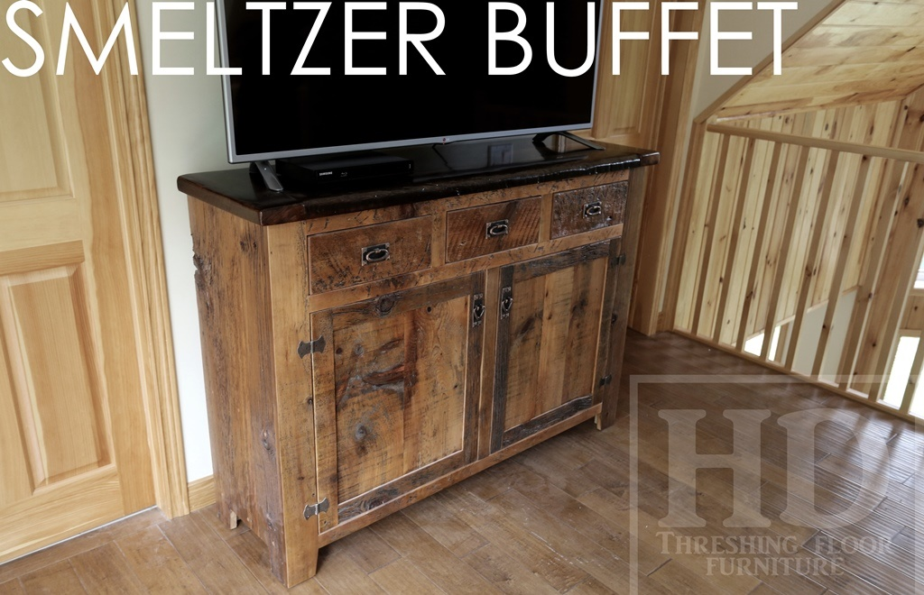 Rustic Reclaimed Wood Cottage Furniture Desert Lake Buffet Blog