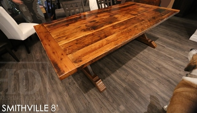 furniture Smithville, reclaimed wood tables Ontario, epoxy, resin, cottage style furniture, rustic furniture, rustic reclaimed wood tables, live edge, sawbuck table, mennonite furniture Cambridge, HD Threshing, HD Threshing Floor Furniture