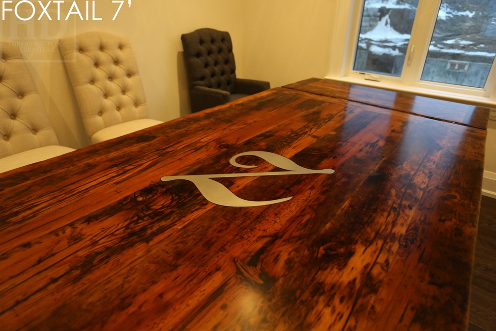 reclaimed wood table Georgetown, Ontario, epoxy, resin, Gerald Reinink, custom tables Ontario, farmhouse table, harvest table, solid wood furniture, mennonite furniture, sawbuck table, recycled wood table, distressed wood table, rustic furniture, cottage table