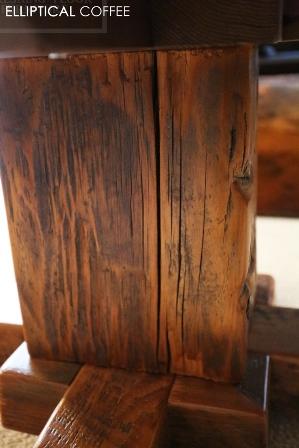 Rustic Farmhouse Reclaimed Wood Coffee Tables Ontario Epoxy Gerald