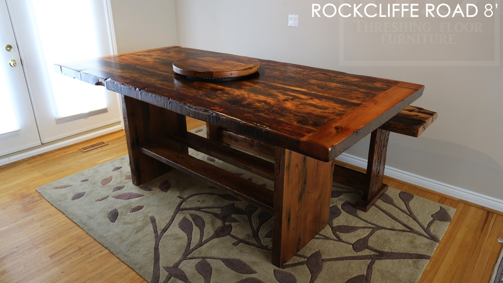 Bar Height Reclaimed Wood Table For Waterdown Home Blog