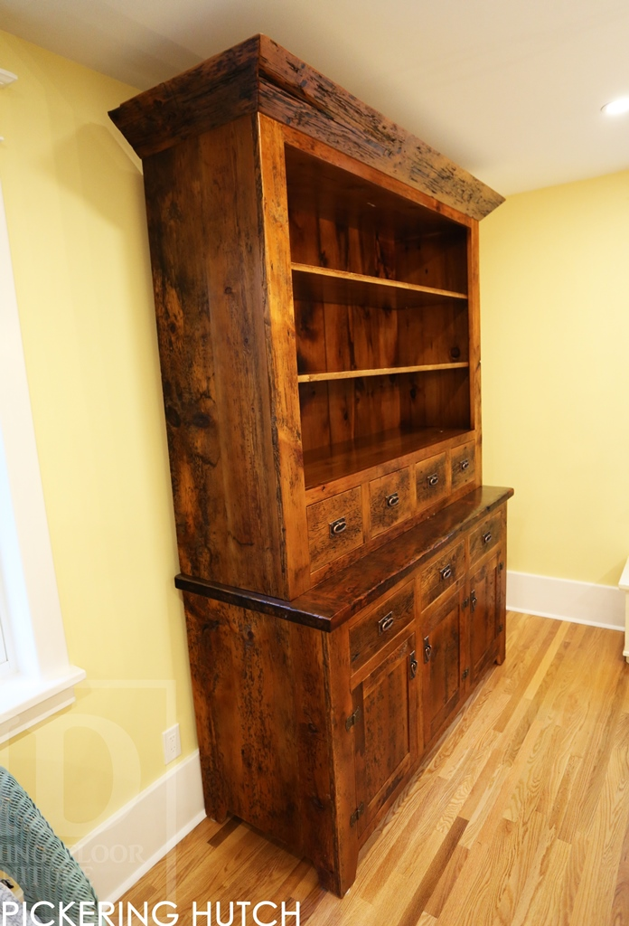 allwood reclaimed heritage gallery furniture barnwood hutch sage